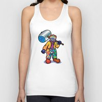 the joker Tank Tops featuring JOKER by toprock