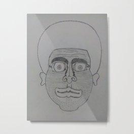 A man's potrait Metal Print