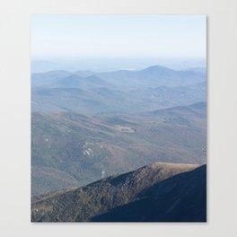 New Hampshire - Long Canvas Print