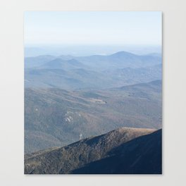 New Hampshire - Long Canvas Print