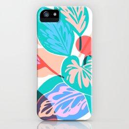 Colorful Pothos Plant iPhone Case