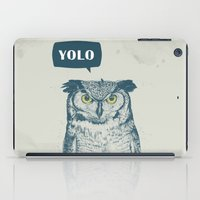 yolo iPad Cases featuring YOLO by Balazs Solti