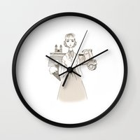 movies Wall Clocks featuring Roman Holiday - Movies & Outfits by Meritxell Garcia