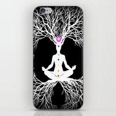 Tree of Life White iPhone & iPod Skin