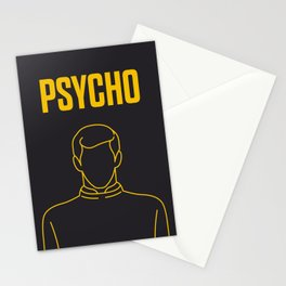 Psycho Movie - Poster Stationery Cards