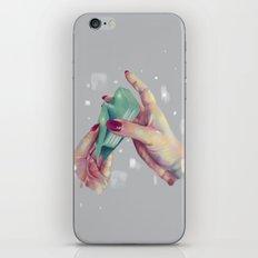 Hand Me the Card iPhone & iPod Skin