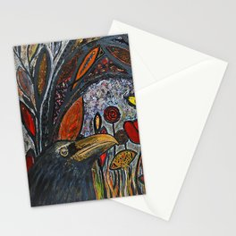 guardian of the past Stationery Cards