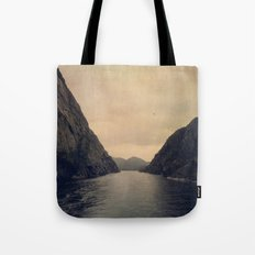 mountains - follow your heart Tote Bag