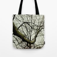 moss Tote Bags featuring Moss by Riley Gallagher