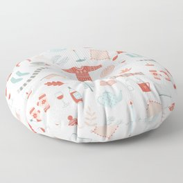 Hygge Cosy Things Floor Pillow