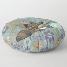 Wild & Free Floor Pillow