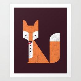 Le Sly Fox Art Print