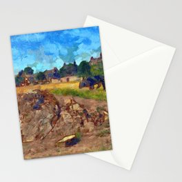 Luca On The Links Stationery Cards