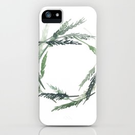 EVERGREEN WREATH iPhone Case