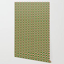 Papercut Lotus Pattern Wallpaper