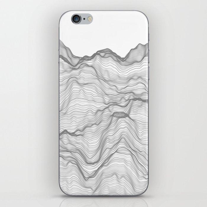 Soft Peaks iPhone Skin