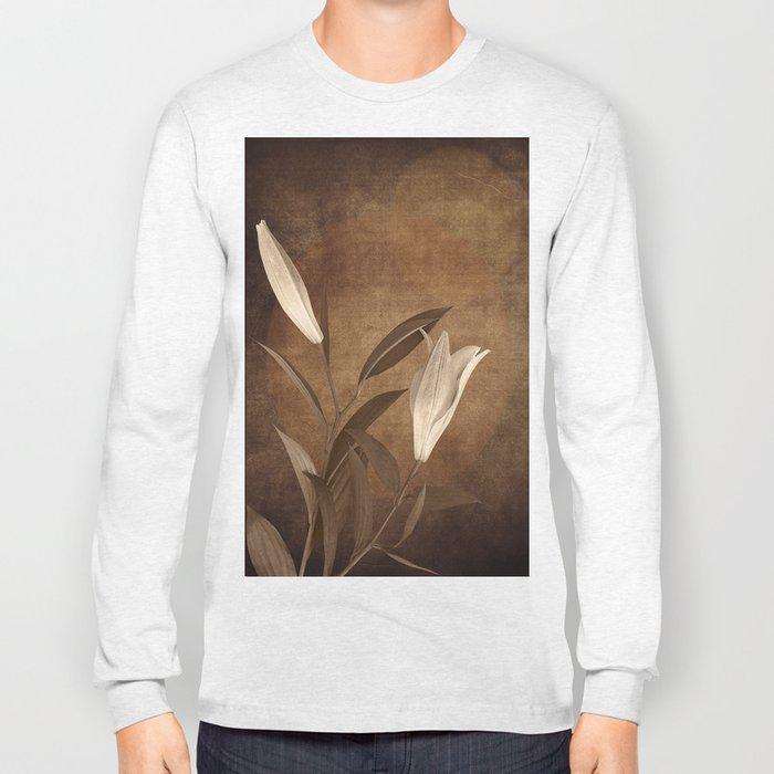 Vintage Flowers Long Sleeve T-shirt