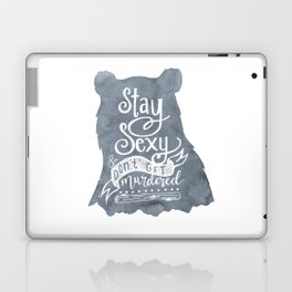 SSDGM Bear Laptop & iPad Skin