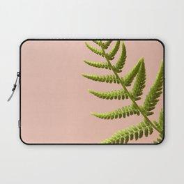 Fern Study On Pink #2 Laptop Sleeve
