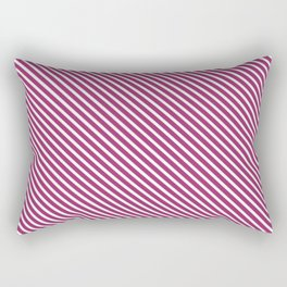 Festival Fuchsia Stripe Rectangular Pillow