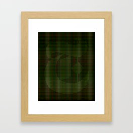 NY TIMES pattern T Framed Art Print