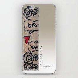 Wood Dominoes - #6 iPhone Skin