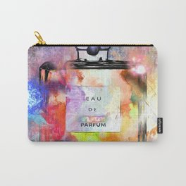 Parfum Painted Carry-All Pouch