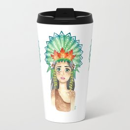 Crown of Leaves Travel Mug