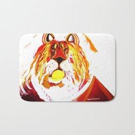 Uprising Golden Lion Bath Mat