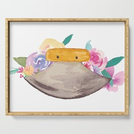 Ulu Floral Serving Tray