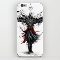 assassins creed iPhone & iPod Skins featuring assassins creed by ururuty