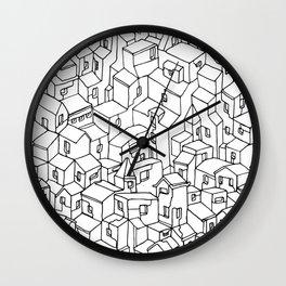 Endless City Wall Clock