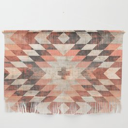 native coral diamond Wall Hanging