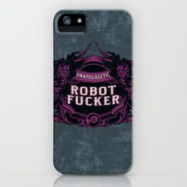 Fancy and Proud iPhone Case