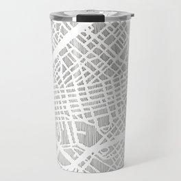 dallas city print Travel Mug