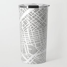 dallas city print Travel Mug