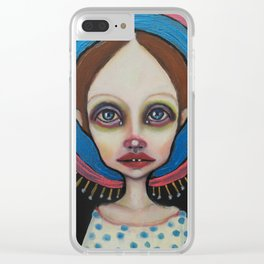 Little holy Clear iPhone Case