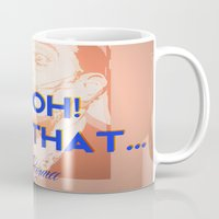 karma Mugs featuring Karma by Future Illustrations- Artwork by Julie C