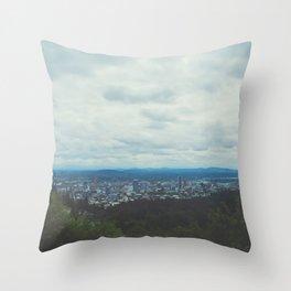 Stumptown Throw Pillow