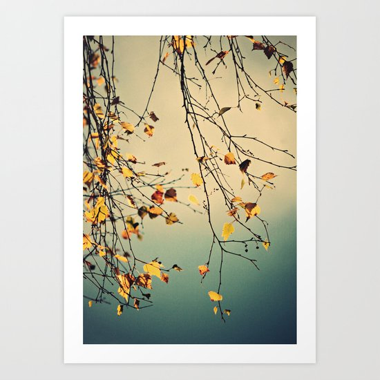 A poem from nature Art Print