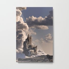 Kilauea Volcano at Kalapana 3b Metal Print