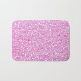 Pink Glitter Bath Mat
