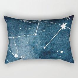 Aquarius Zodiac Constellation Rectangular Pillow