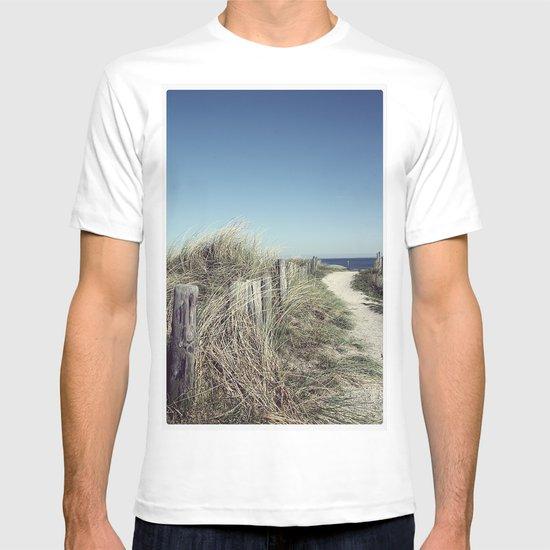 pfad zum meer T-shirt