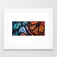 wings Framed Art Prints featuring Wings by S.G. DeCarlo