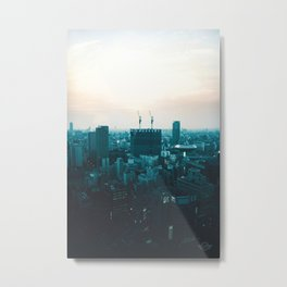 Osaka morning Metal Print