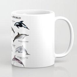 Dolphins of the World Coffee Mug