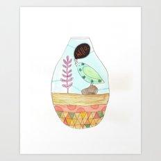 Hello Bird No. 1 Art Print