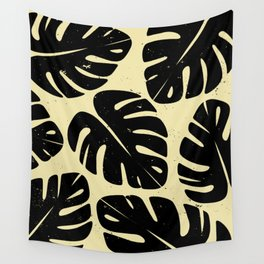 Monstera Leaf Print 2 Wall Tapestry
