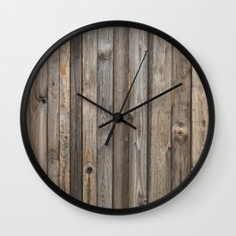 Boards Wall Clock